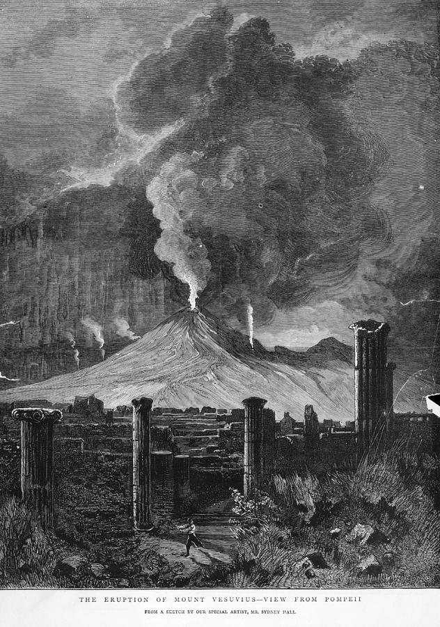 Pompeii Photograph by Hulton Archive