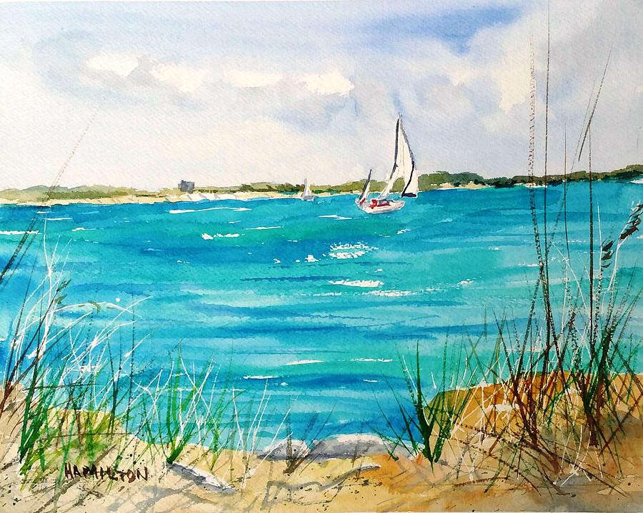 Ponce Inlet by Larry Hamilton