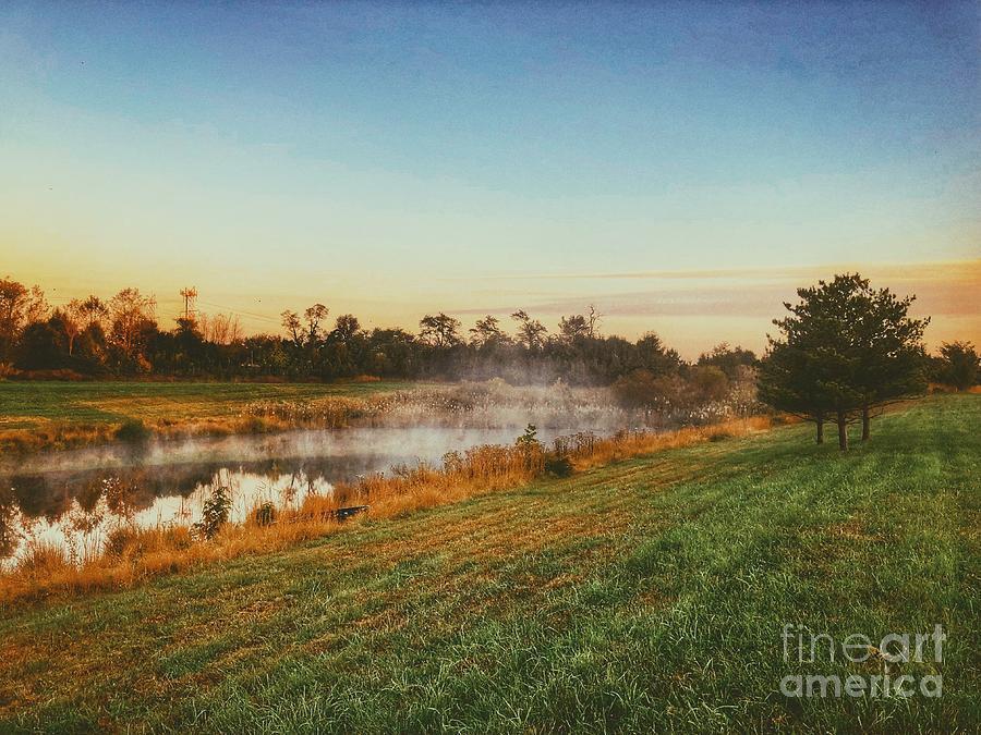 Pond in Fall by Jon Munson II