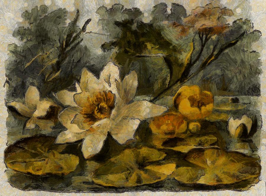 Pond Lily by Mario Carini