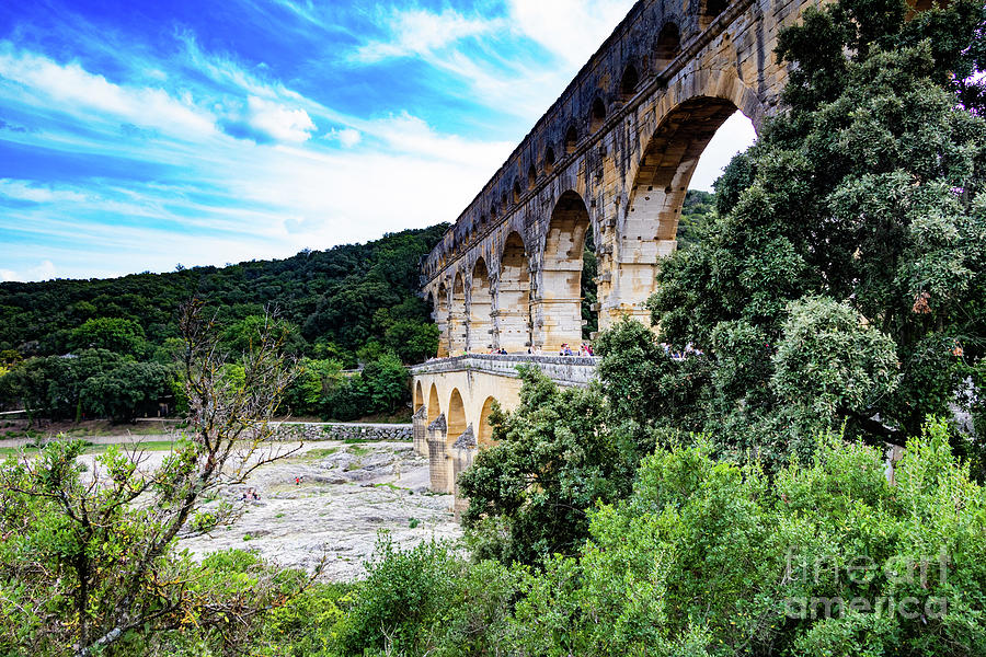 Pont du Gard Aqueduct II A UNESCO World Heritage Site by Thomas Marchessault