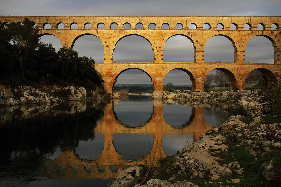 Pont Du Gard Photograph by Boccalupo Photography