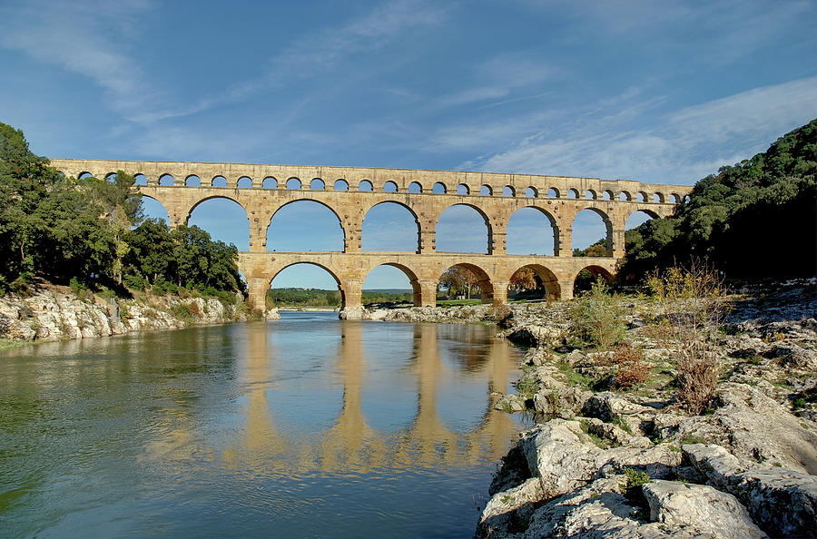 Pont Du Gard, France Photograph by David Min