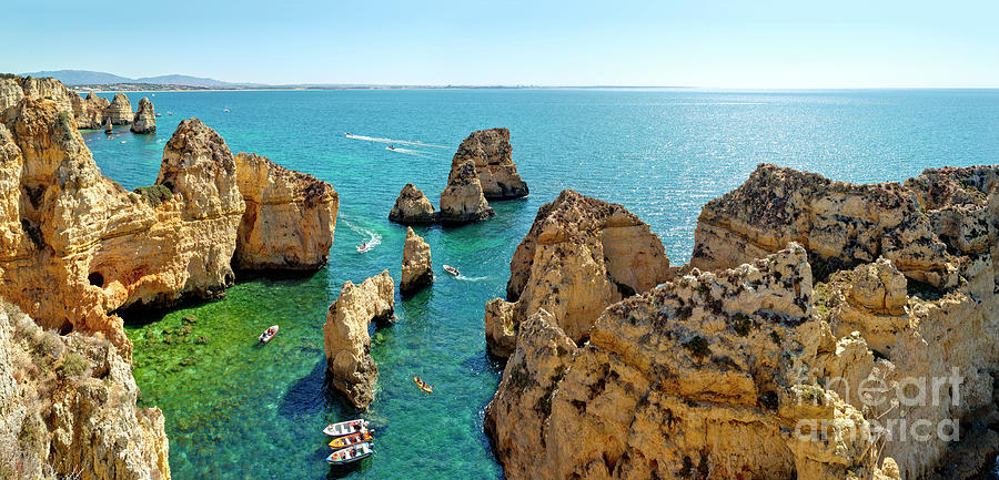 Ponta da Piedade, the Algarve by Mikehoward Photography