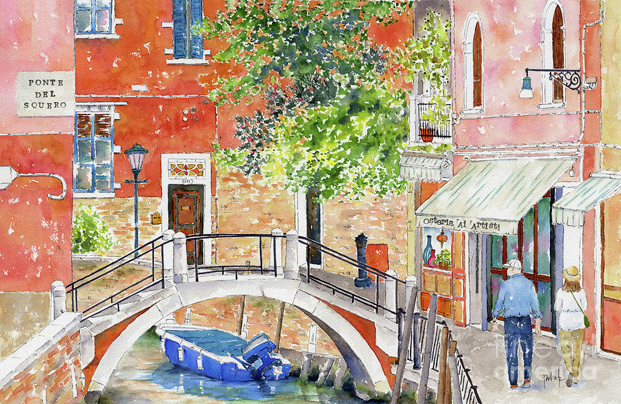 Ponte Del Squero by Pat Katz