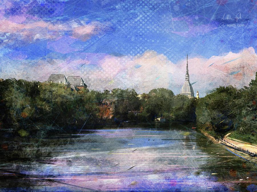 Ponte Isabella Digital Art