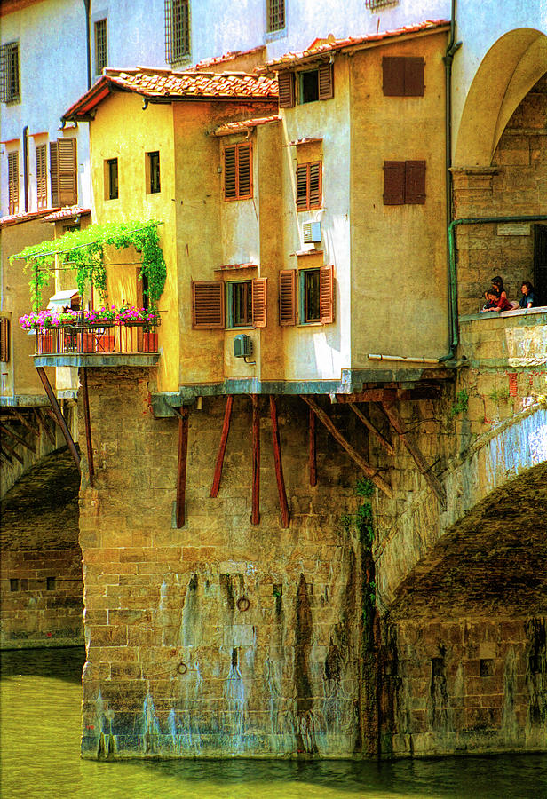 Ponte Vecchio in Florence by David Smith