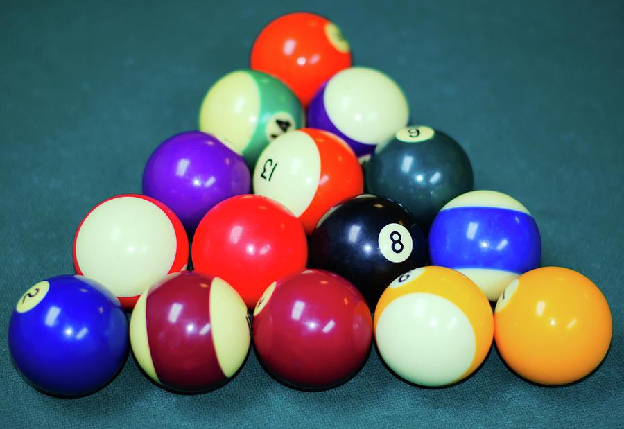 Pool Balls in Color by Tikvah's Hope