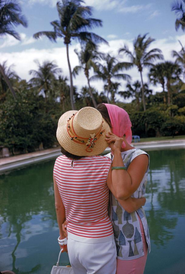 Poolside Secrets Photograph by Slim Aarons