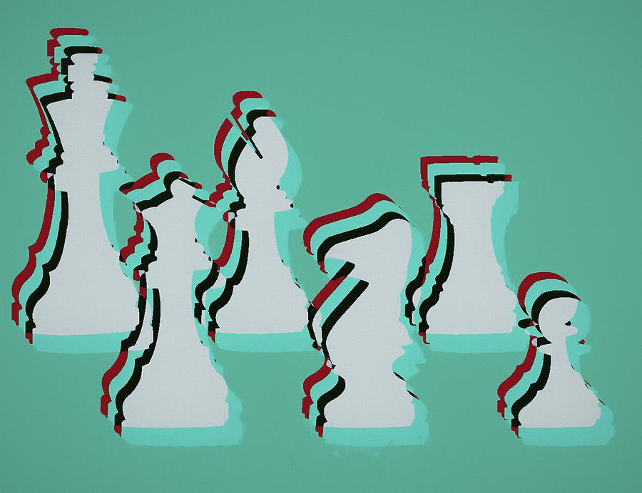 Pop Art Chess by Dan Sproul