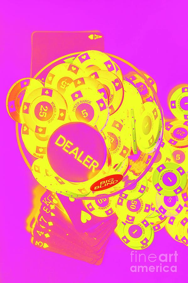 Pop Art Poker Photograph