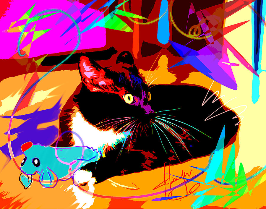 pOp Cat and Mouse by DC Langer