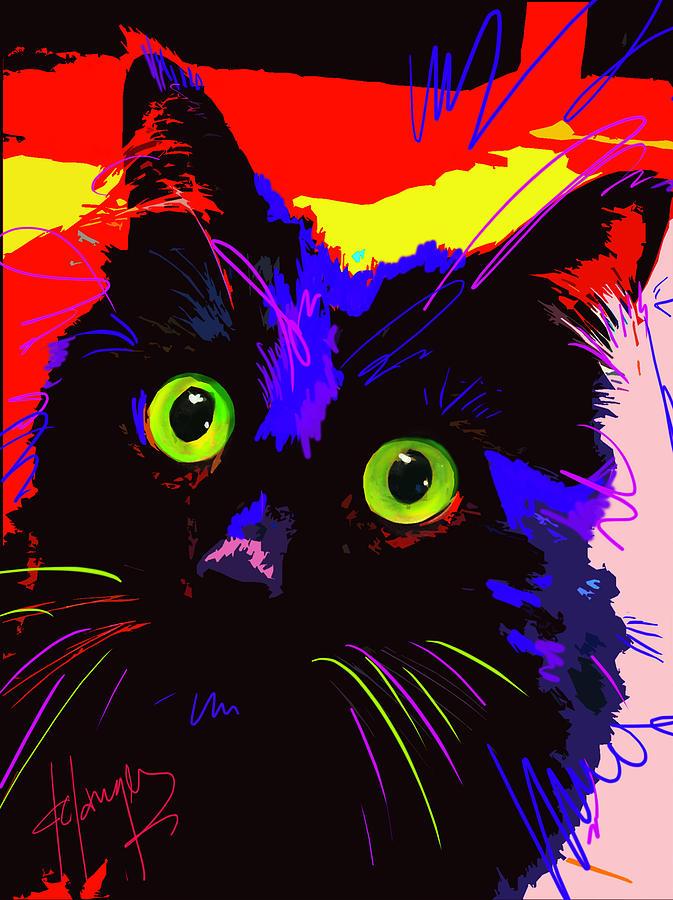 POP CAT Lenny by DC Langer