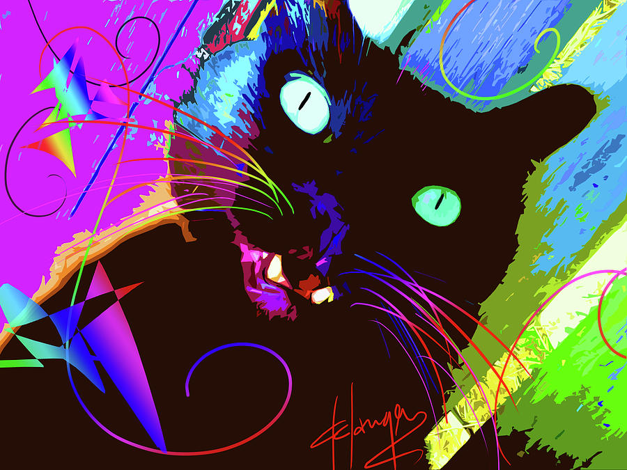 pOp Cat The Tarantula by DC Langer