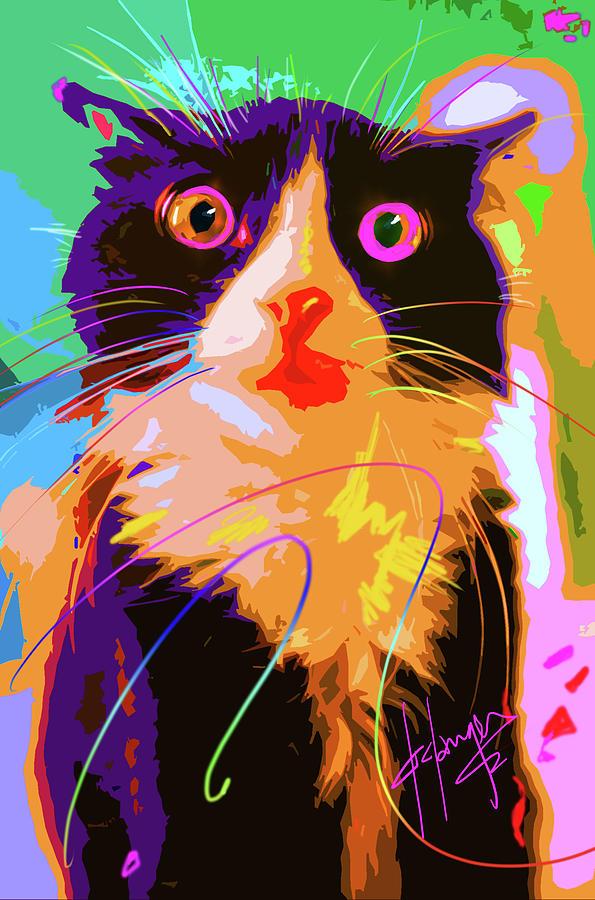 POP CAT Tux by DC Langer
