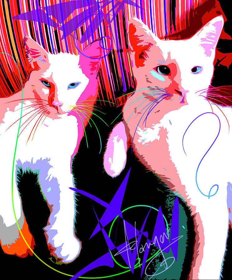 pOp Cats Cheesecake and Cat Stevens by DC Langer