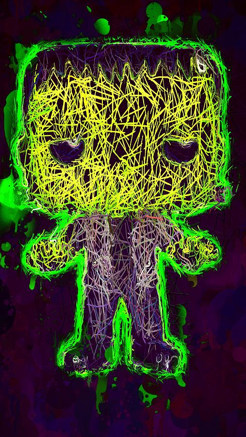 Frankenstein Pop 2 by Al Matra