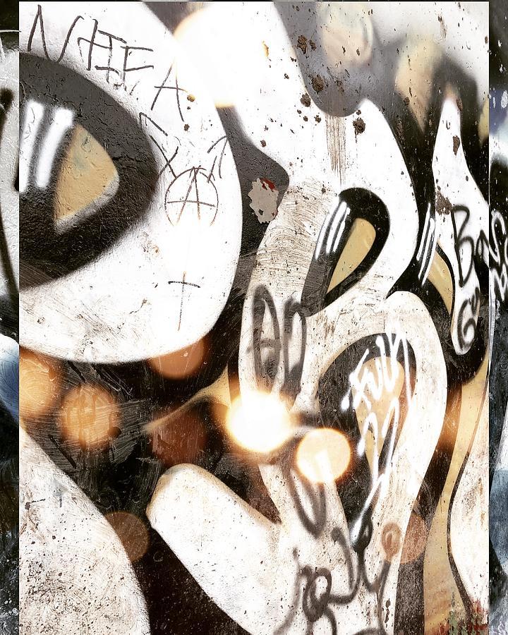 Graffiti Digital Art - Popcorn by Sharon Green