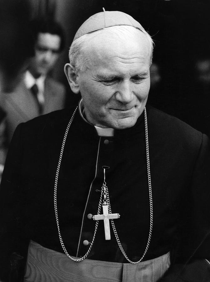 Pope John Paul II Photograph by Central Press