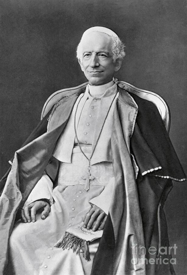 Pope Leo Xiii Photograph by Bettmann
