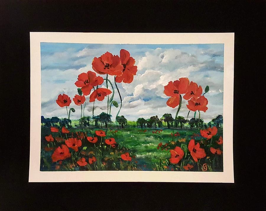 POPPIES        41 19 by Cheryl Nancy Ann Gordon