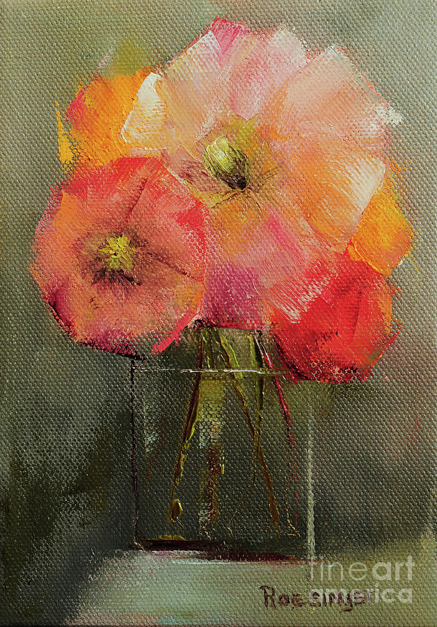 Poppies Painting - Poppies by Paint Box Studio