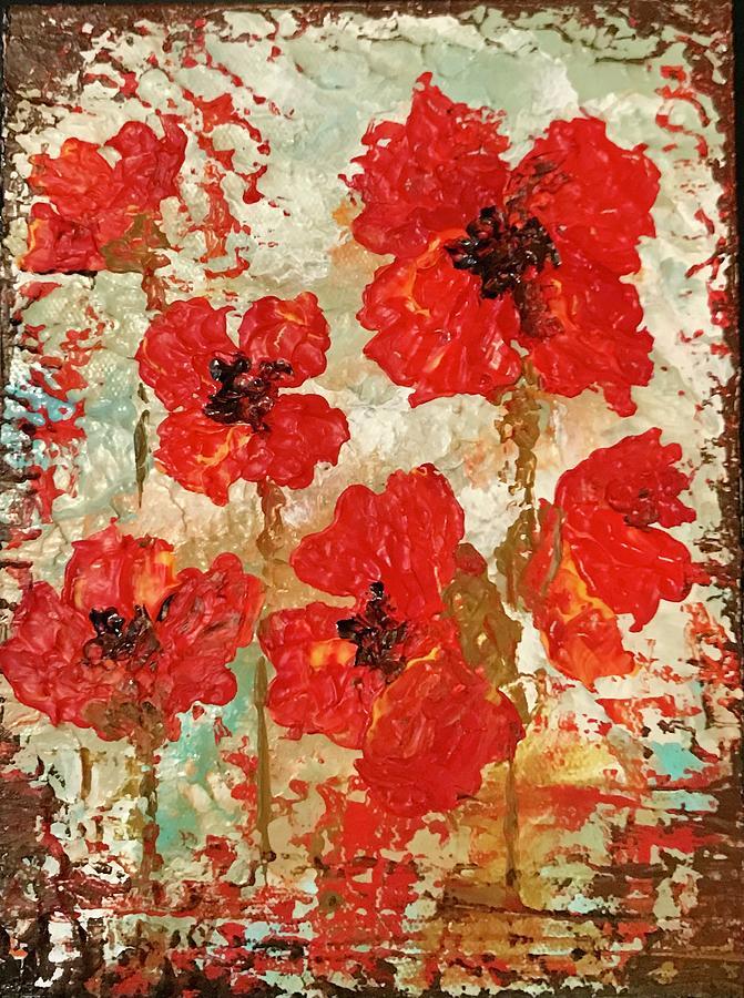 Poppies by Elizabeth Mundaden