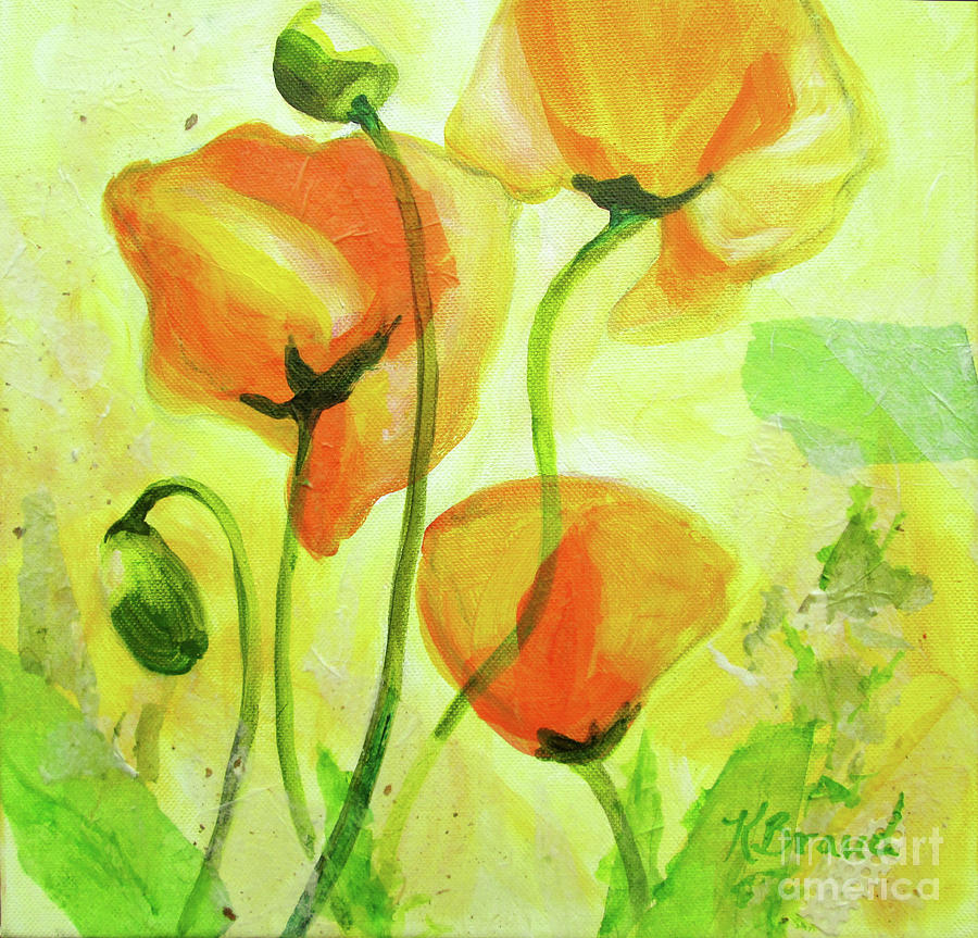 Poppies for Abundance by Kathy Braud