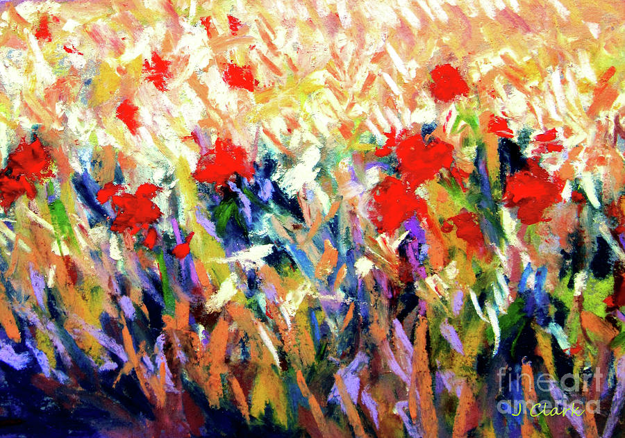Poppies Painting - Poppies by John Clark