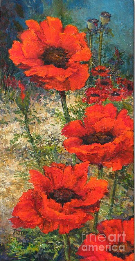 Poppies  by Virginia Potter