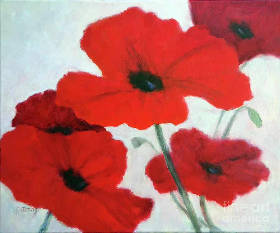 Poppy Delight by Carolyn Jarvis