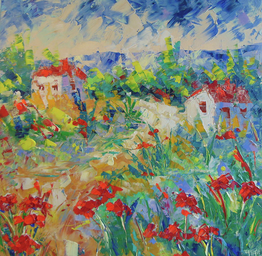 Poppy filed Provence by Frederic Payet