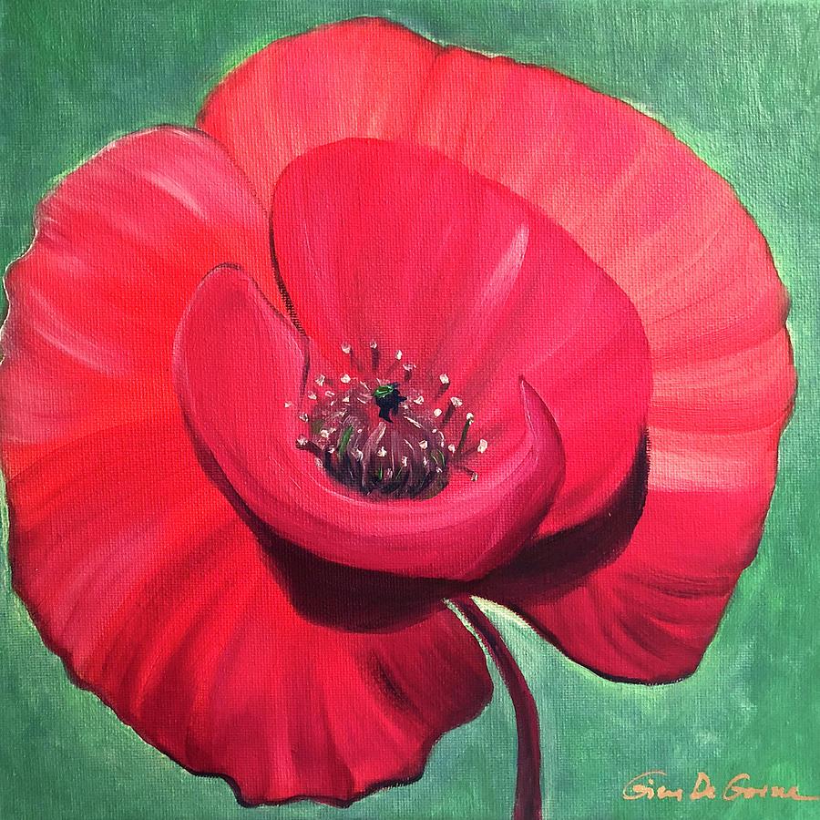 Poppy Glory by Gina De Gorna