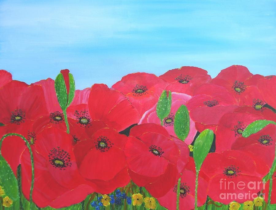 Poppy Parade by Karen Jane Jones