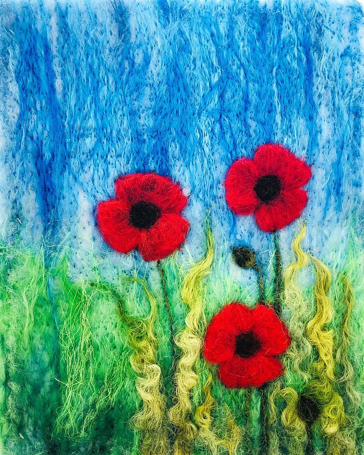Poppy Trio by Ushma Sargeant