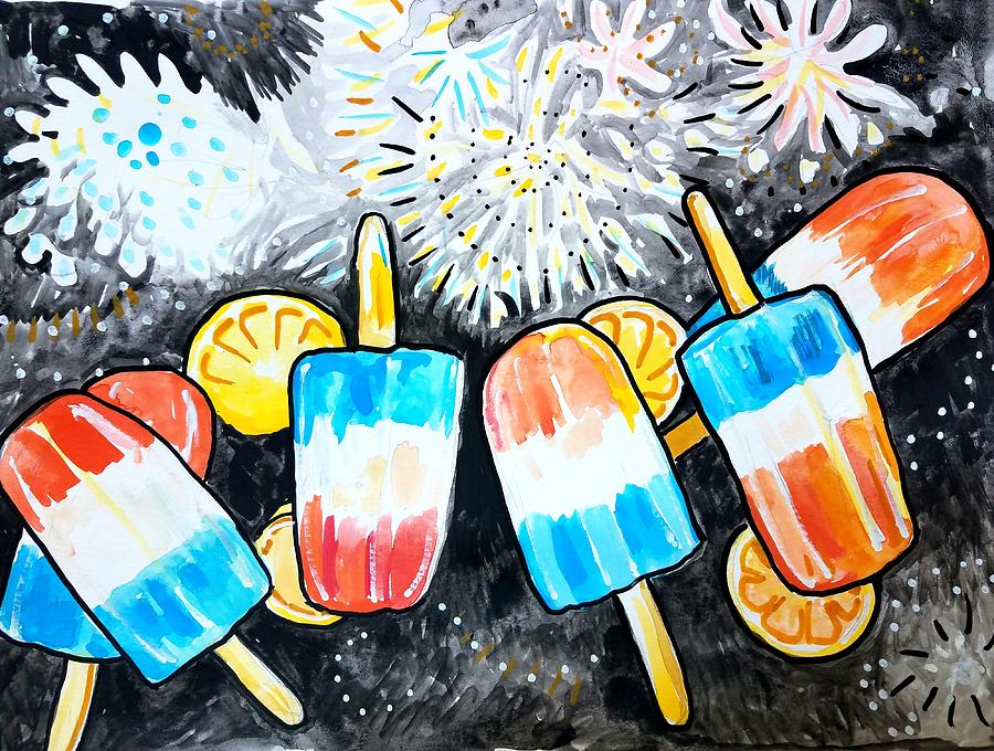 popsicles and fireworks by Tilly Strauss