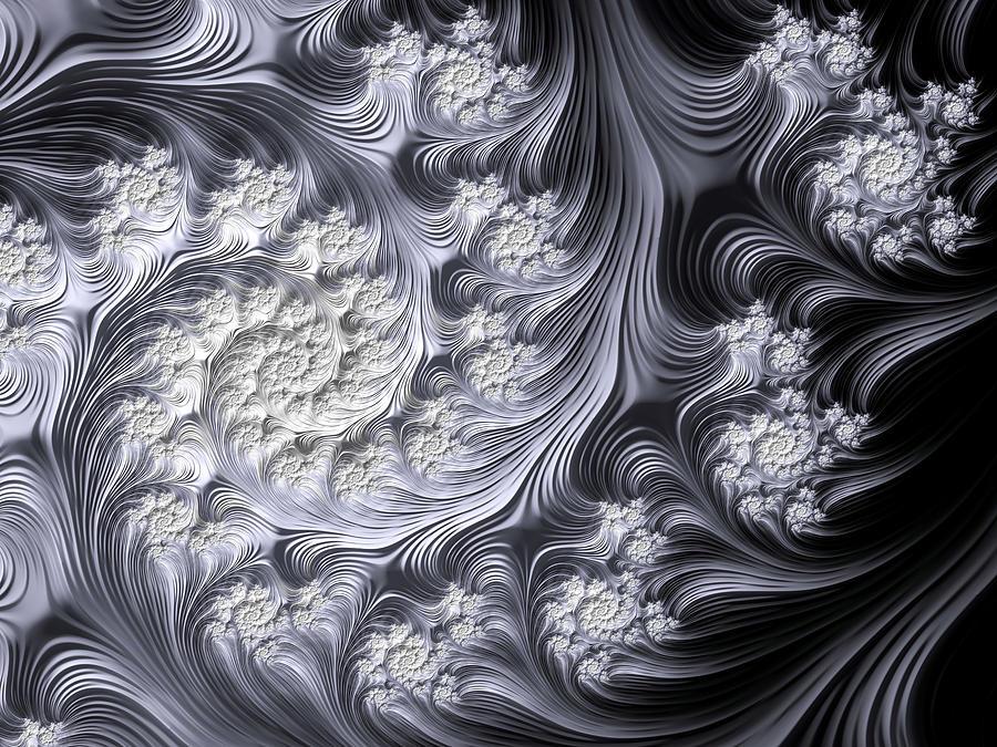 Porcelain Spiral Digital Art