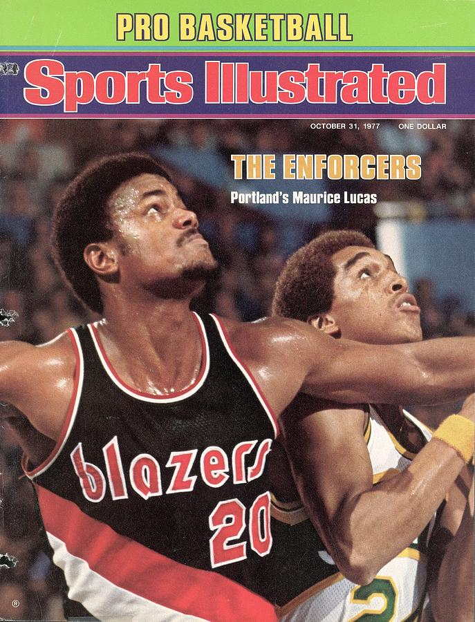 Porland Trail Blazers Maurice Lucas Sports Illustrated Cover Photograph by Sports Illustrated