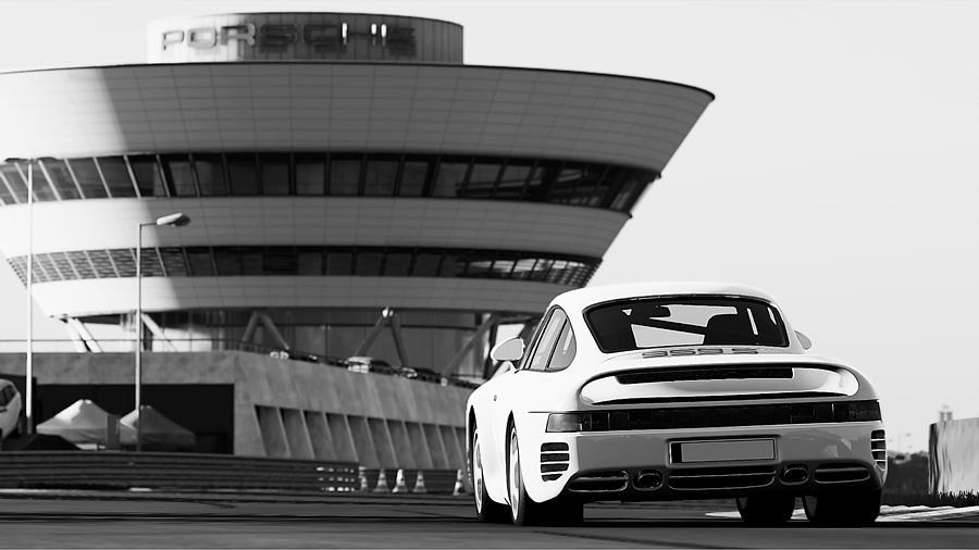 Porsche 959 Photograph - Porsche 959s - 19 by Andrea Mazzocchetti