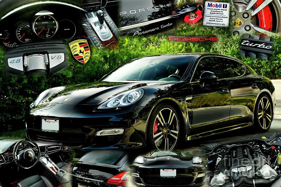 Porsche Panamera by Charles Abrams