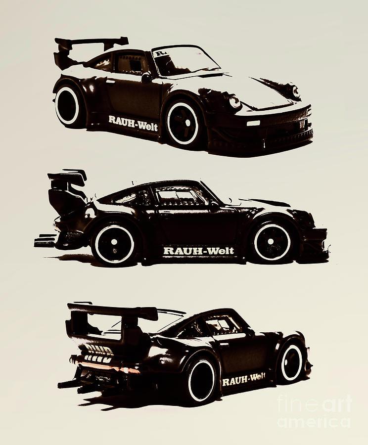 Porsche Photograph - Porsche Rwb 930 by Jorgo Photography - Wall Art Gallery