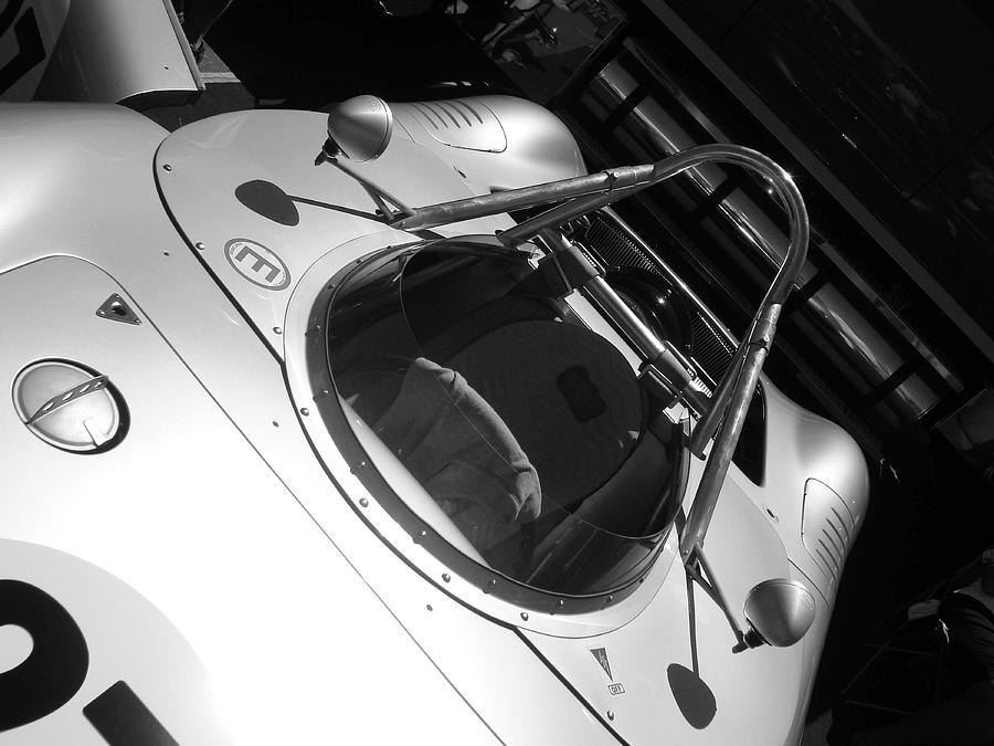 Porsche Spyder Pyrography - Porsche Spyder by Naxart Studio