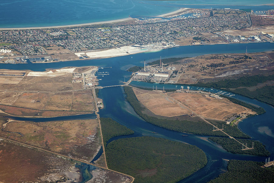 Port Adelaide. South Australia Photograph by John White Photos
