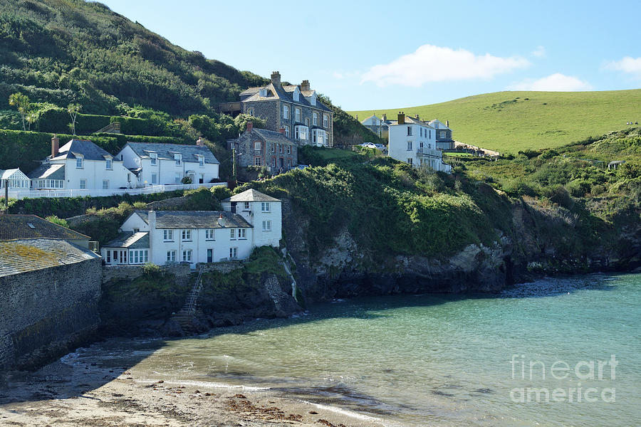 Port Isaac, Cornwall by David Birchall