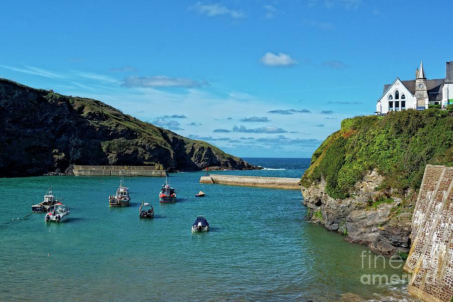 Port Isaac Harbour, Cornwall by David Birchall