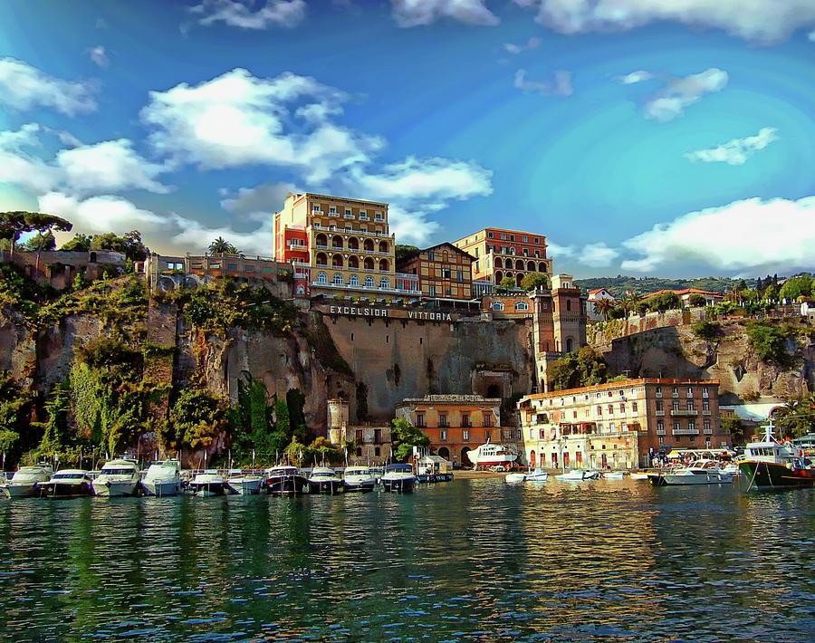Port of Sorrento by Anthony Dezenzio