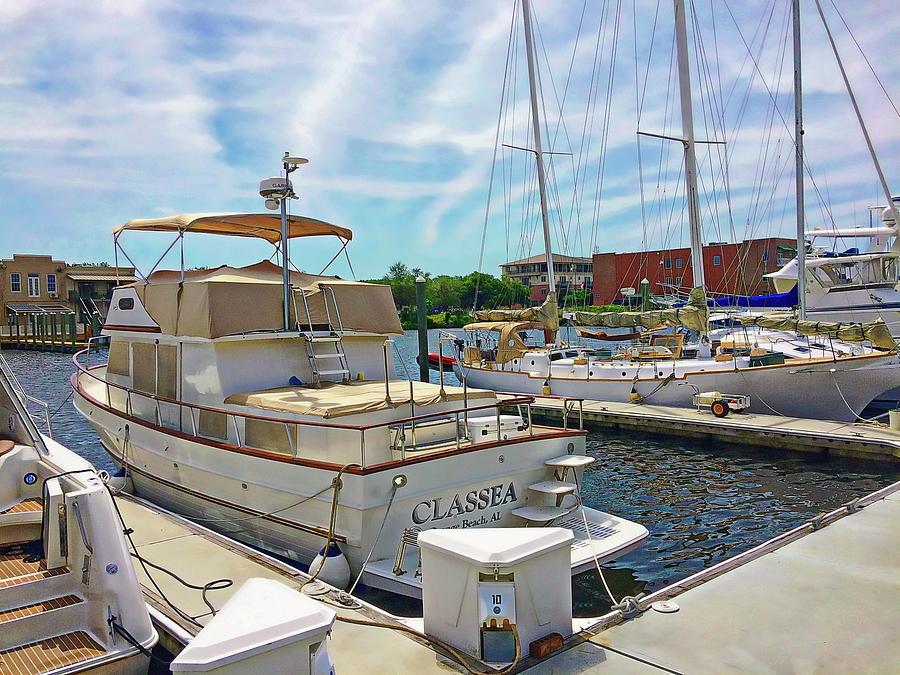 Port Royal Boat Slip by Anthony Dezenzio