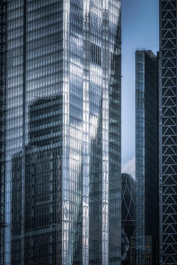 Portait Of London Architecture No 2 by Chris Fletcher