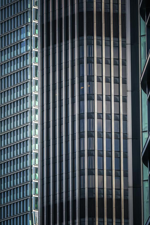 Portait Of London Architecture No 3 by Chris Fletcher