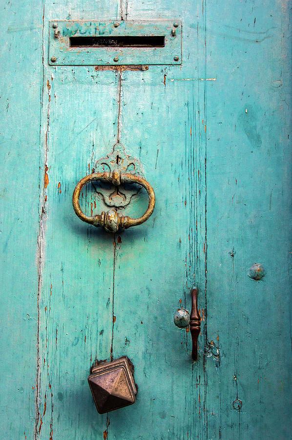 Porte Blue Photograph by Elly Schuurman